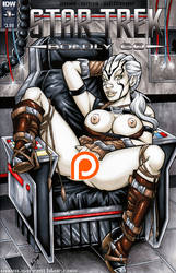 Extra naughty Jaylah sketch cover commission by gb2k