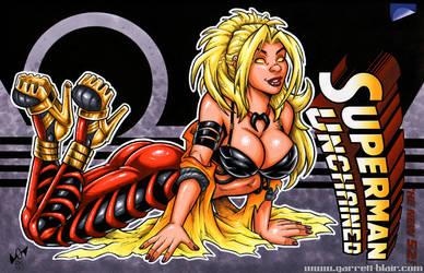 Supergirl of Apokolips horizontal sketch cover