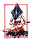 GBChibi Pyramid Head by gb2k