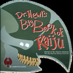 Dr. Newt's Big Book of Kaiju Cover