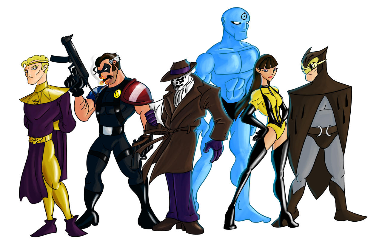 Watchmen Animated by crimsondespot