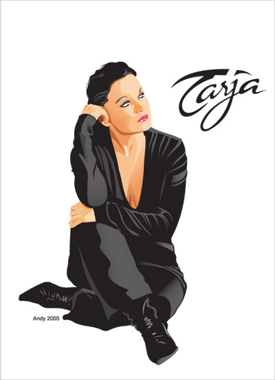 Tarja Nightwish by Andy811