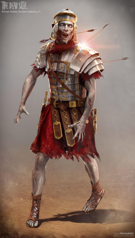 zombie roman soldier by lordoguzhan on deviantart