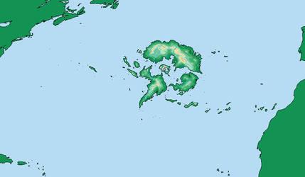 Atlantis Map. by LordOguzHan