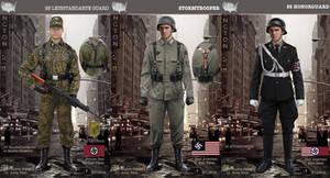 Nazi Army Uniforms.