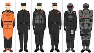 Modern Nazi Uniforms.