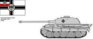 King Tiger Tank.