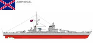 C.S.A Battleship