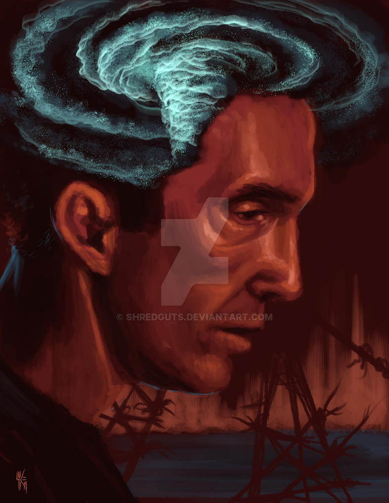 Rust Cohle 'Vortex' by Shredguts