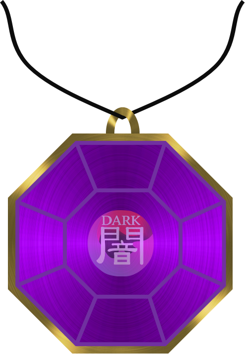 Pendant of Hollow Dark (Render) by After-Sunfall