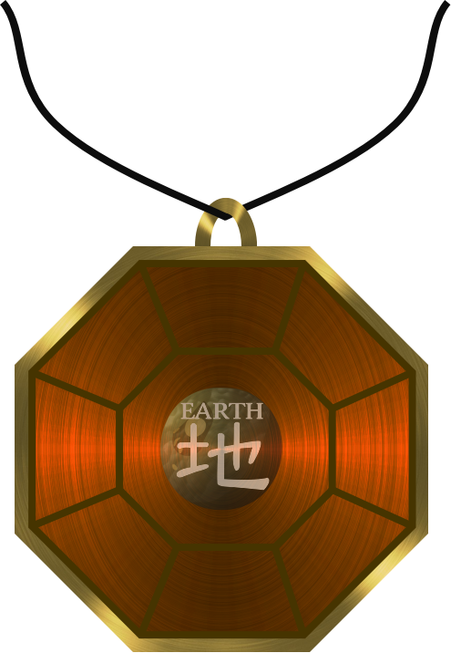 Pendant of Shaking Earth (Render) by After-Sunfall
