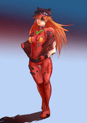 Asuka Langley by RogerKmpo
