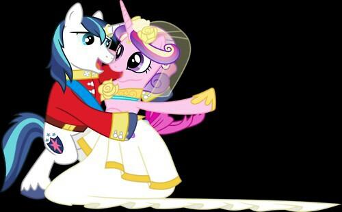 Shining Armor and Princess Cadence Dancing by PrincessCadencePony