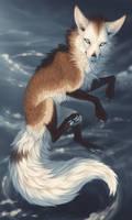 Snow Swirl by Kinnoak