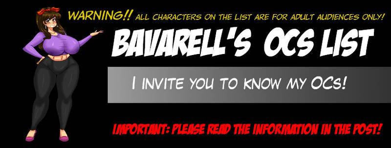 Bavarell OCs List 00