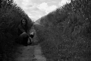 middle of cornfield by mmerytt