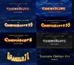 Retro Fox Logo Remakes P3: (CinemaScope Logos) V5