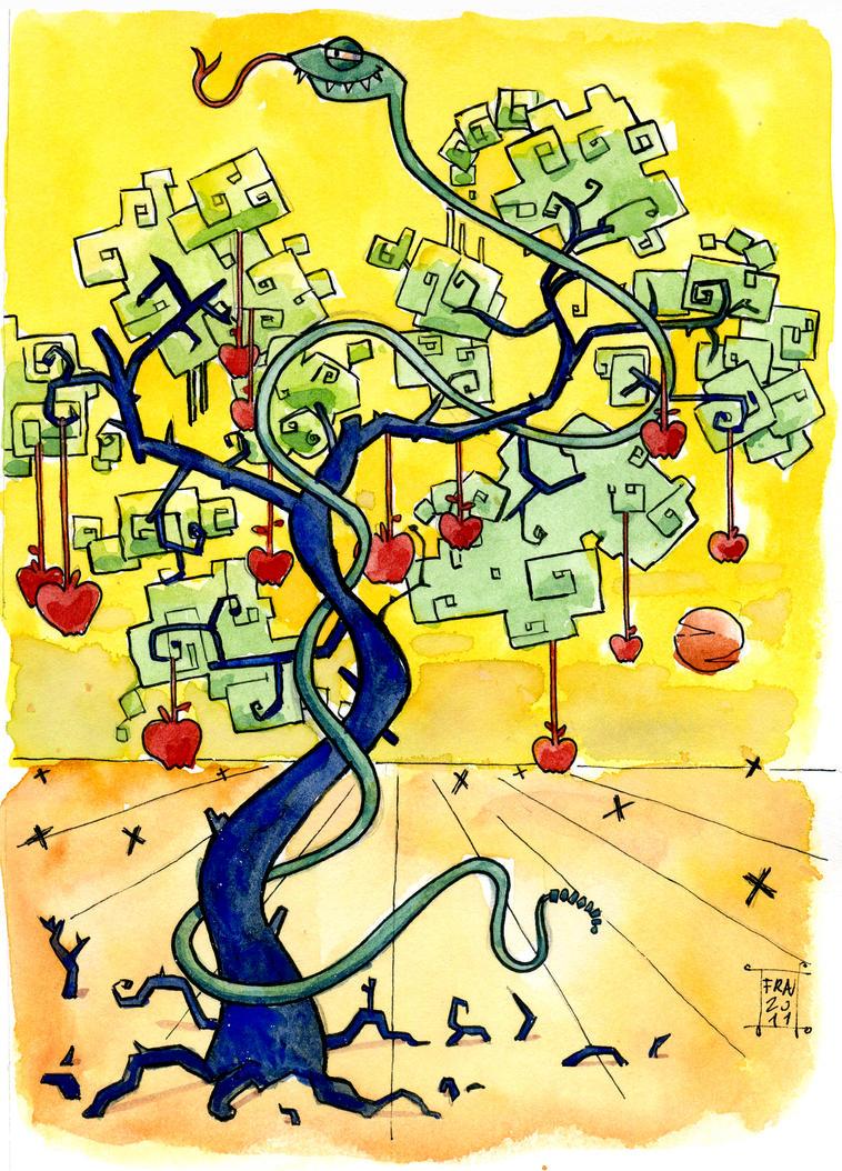 El Arbol De La Ciencia By Franki02 On Deviantart