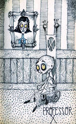 Proffesor X by tim burton