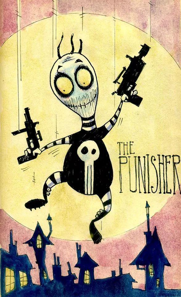 The Punisher by Tim Burton by franki02