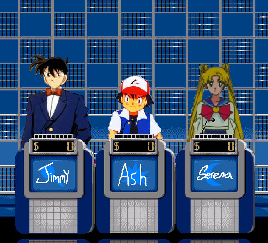 Cartoon Characters Jeopardy : Jeopardy anime tournament by cruiseshipz on deviantart