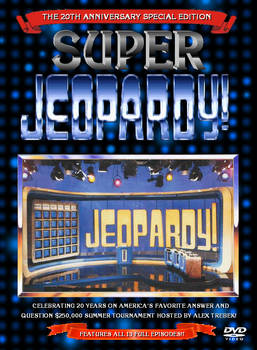 Super Jeopardy DVD Front Cover