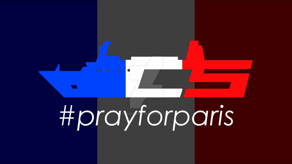 #prayforparis by cruiseshipz