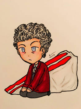 12th Doctor: Red Velvet Cake