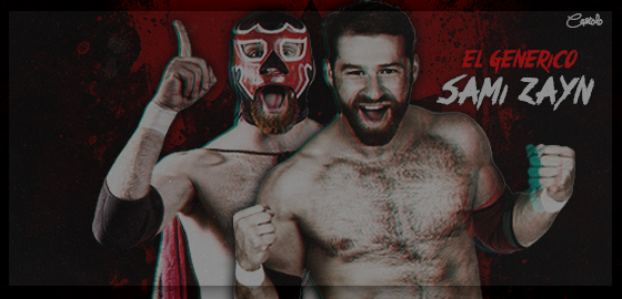Signature WWE Superstar Sami Zayn with/El Generico by ...