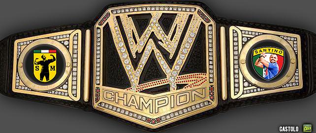 WWE Championship Belt Santino Marella by Castolo ...