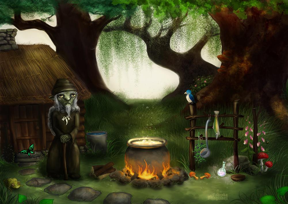 In the forest by FabrykaImaginacji