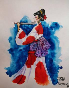 Jigai Japan's Warrior