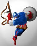 Captain America - Avenger by KingOlie