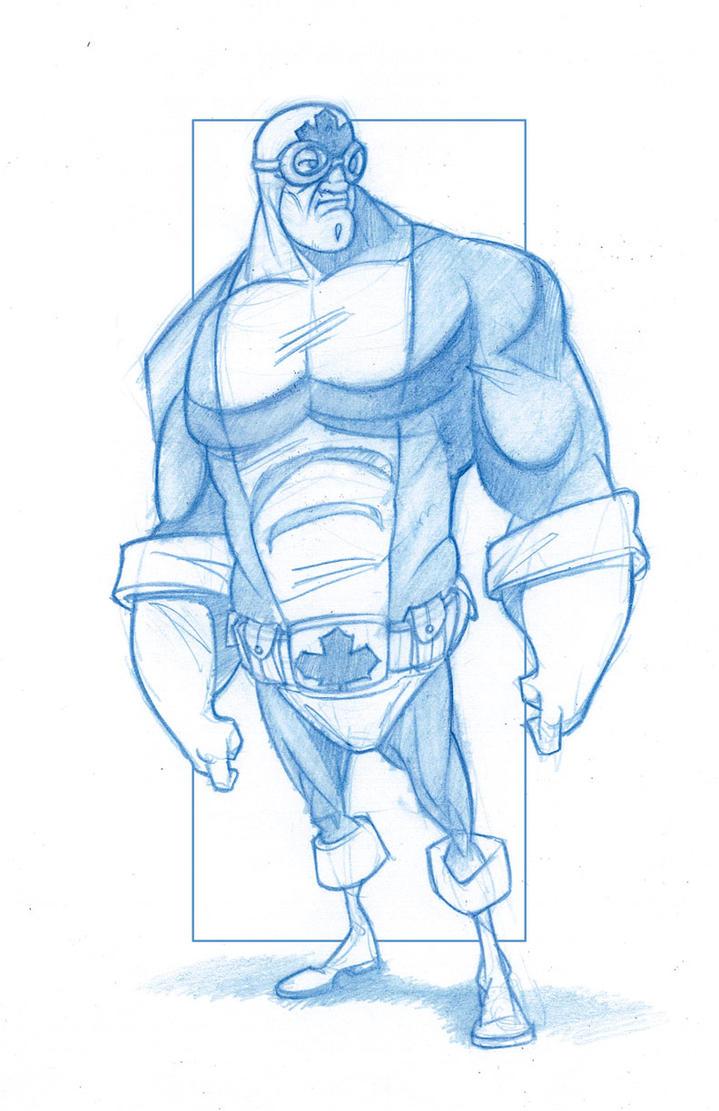 D Artiste Character Design Download : Captain canuck by kingolie on deviantart