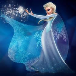 Queen Elsa by KingOlie