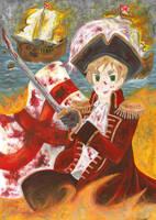 Captain Kirkland by AmaiRin