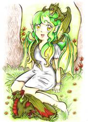 Dragon Nymph