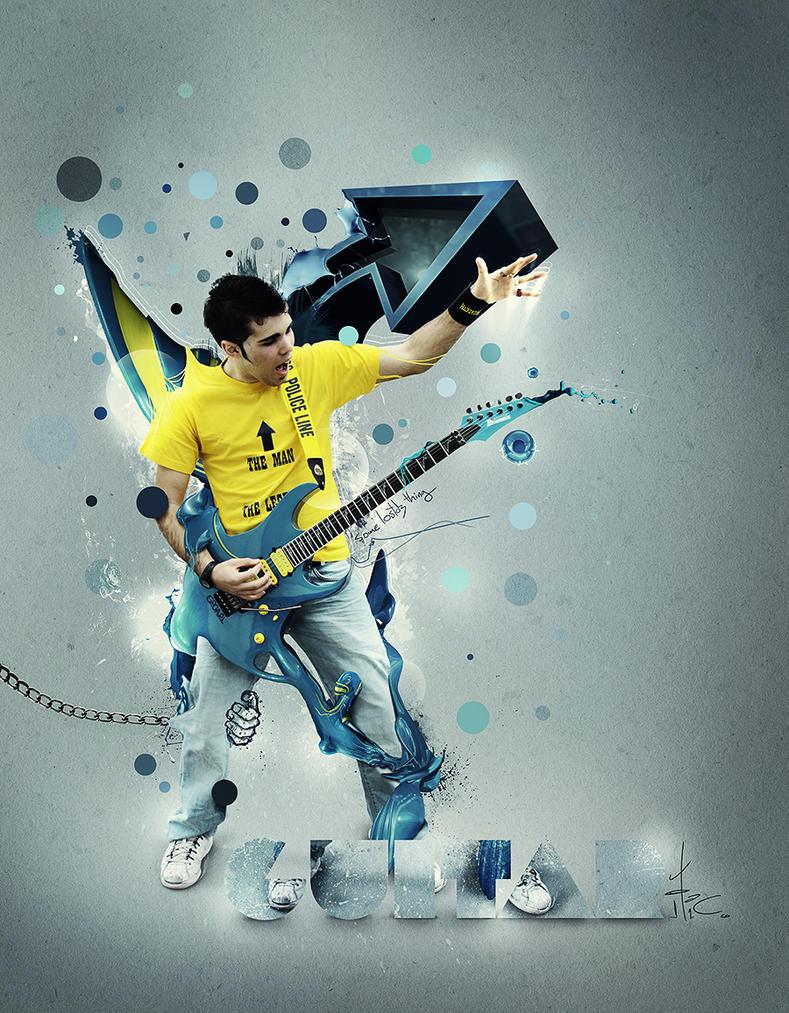guitaritic by lostdz d363jdh Inspiration Through Digital Art & Photo Manipulation