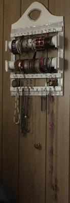 Multi use jewelry and bangle holder