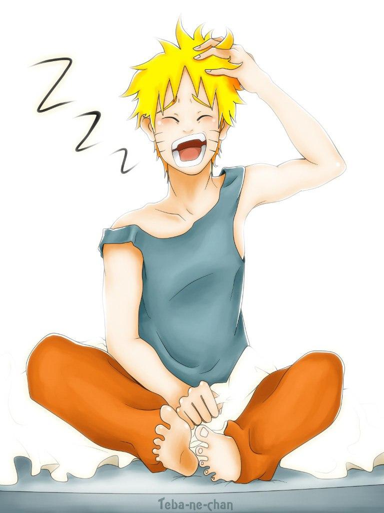 Sleepy Naruto by Teba-ne-chan