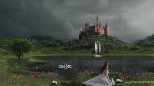The Lake of Castle by JoyWitchLee
