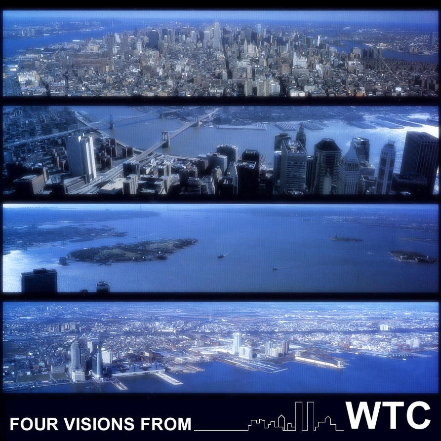4 VISIONS FROM WTC by bramer