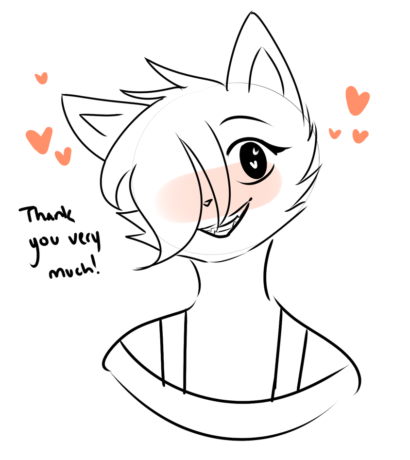 Thank You by CuppieCakesDraws