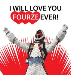 Kamen Rider Valentine - Fourze