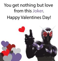 Kamen Rider Valentine - W / Joker