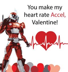 Kamen Rider Valentine - Accel