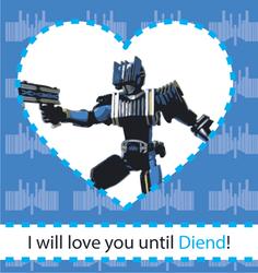 Kamen Rider Valentine - Diend