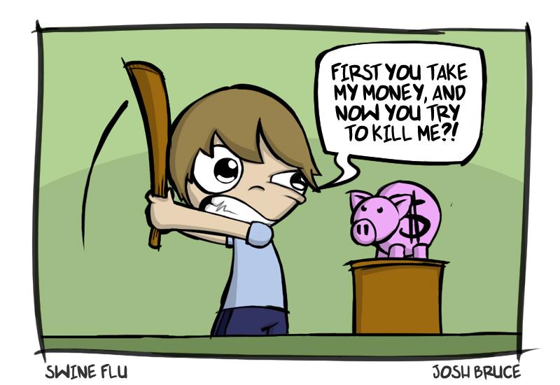 Swine Flu by cute-death