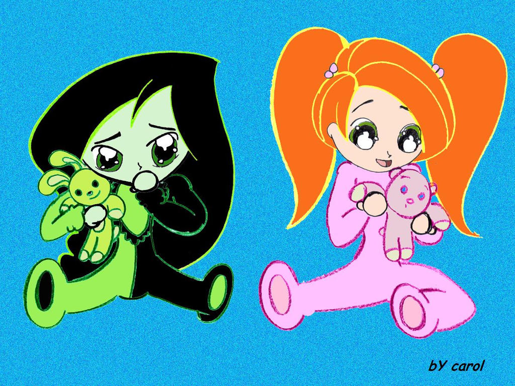 Baby-kim-and-shego by fionna8029 on DeviantArt