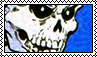 Skeleton Stamp Blue // f2u